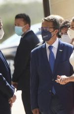 Queen Letizia of Spain Attends the 6th Educational Congress on Rare Disease at CPEIBas Guadalentin in Totana