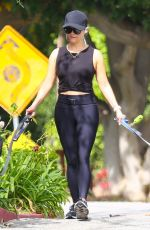 Reese Witherspoon Walking her dogs in Brentwood