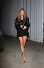 Rosie Huntington-Whiteley Exits a Birthday celebration at Mr Chow in Los Angeles
