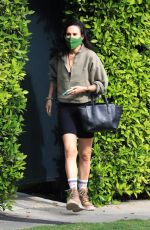 Rumer Willis Leaves her private pilates class in West Hollywood