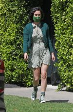 Rumer Willis Pictured exiting Reforma Pilates in West Hollywood