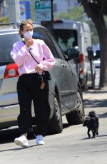Sarah Paulson Running errands with a friend in Los Angeles