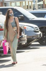 Scout & Tallulah Willis Shops at The Grove with their pets in Los Angeles