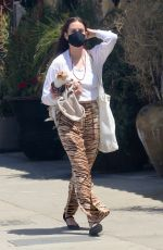Scout Willis Runs weekend errands with her dog in Los Angeles