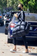 Shanina Shaik Hits the gym in West Hollywood