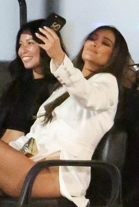 Shay Mitchell Makes sure to take the best selfie while partying at Drake