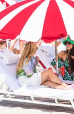 Shay Mitchell Seen at the beach in Miami Beach