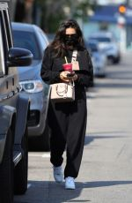 Shay Mitchell Spotted checking her phone while leaving a spa in West Hollywood