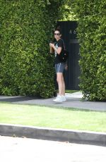 Sofia Boutella Is seen leaving her pilates class in Los Angeles