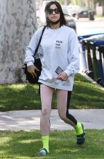 Sofia Boutella Leaving the gym in West Hollywood