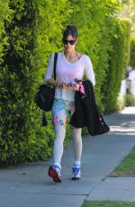 Sofia Boutella Seen arriving at a morning pilates class in West Hollywood