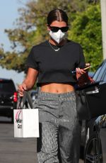 Sofia Richie Shows off her abs after shopping on Melrose Place