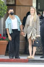 Sophie Turner Shopping in Beverly Hills