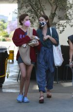 Tallulah Willis Flashes her ring as she meets up with her sisters to go house hunting in West Hollywood