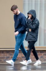 Tanisha Gorey Spotted leaving a hotel in Manchester
