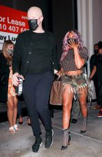 Taraj P Hensen Looks stylish stepping out with friends in West Hollywood