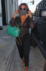 Taraji P. Henson Shows off her curves as she is spotted arriving for dinner at Catch LA in West Hollywood