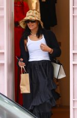 Tessa Thompson Pictured shopping in Sydney