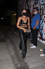 Tinashe Turns heads as she arrives at Craig
