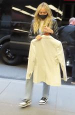 Tish Cyrus Arrives at SNL show starring Miley Cyrus as musical guest in New York