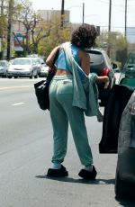 Vanessa Hudgens Out for lunch in LA