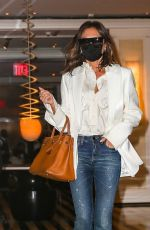 Victoria Beckham Seen leaving The Mark Hotel in New York