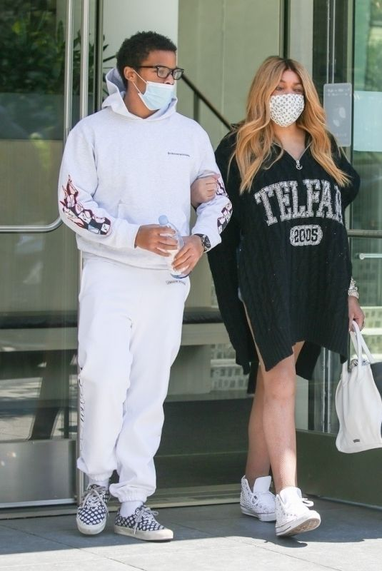 Wendy Williams Walks arm in arm with son Kevin as she steps out in NYC