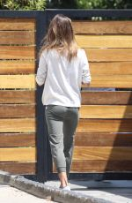 Alessandra Ambrosio Leaving pilates in West Hollywood