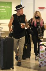 Alexa Bliss Spotted at LAX Airport in Los Angeles
