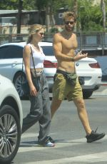 Ali Collier Seen out in Hollywood