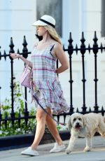 Alice Eve Out and about in Notting Hill