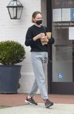 Amber Valletta Gets coffee in Los Angeles