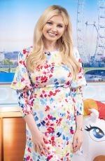 Amy Hart At Good Morning Britain TV Show in London