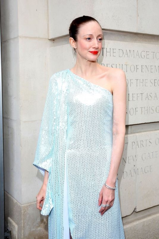 Andrea Riseborough At VIP arrivals for Alice: Curiouser and Curiouser