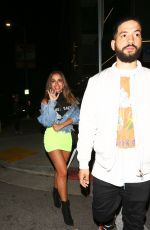 Anitta Displays her famous legs as she poses outside The Nice Guy on Memorial Day in Los Angeles