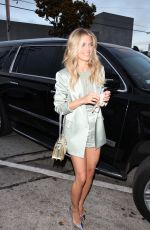 AnnaLynne McCord Shows off her tone legs for dinner at Craig