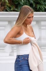 Arabella Chi Spotted doing a revealing photoshoot in London