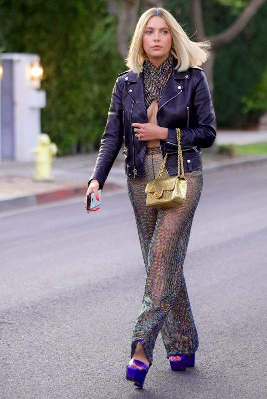 Ashley Benson Heading to dinner in West Hollywood