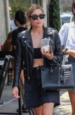 Ashley Benson Out with friend in Los Angeles