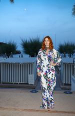 Audrey Fleurot Arrives at the after-party of the opening ceremony of the 60th Monte Carlo Film Festival in Monaco