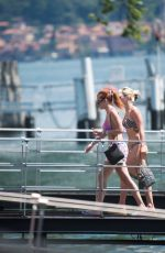 Bella Thorne Spends a few relaxing days with her fiance Benjamin Mascolo on Lake Como in Italy