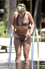 Bethan Kershaw Shows off her voluptuous sultry figure showing off the results of her impressive weight loss in Albufeira