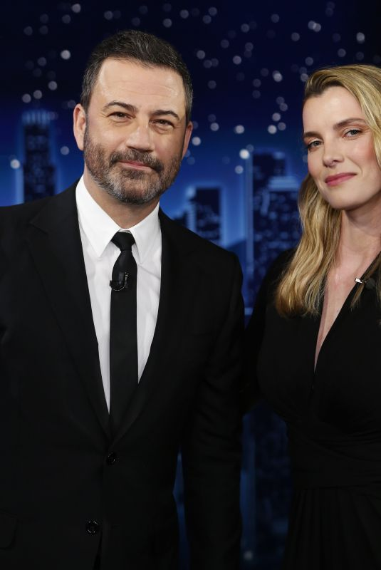 Betty Gilpin Appearing on Jimmy Kimmel Live in Los Angeles