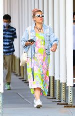Busy Philipps Spotted in colorful garb as she runs errands while out and about in New York