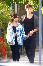 Camila Cabello & Shawn Mendes Pictured meeting with some friends ahead of dinner in West Hollywood