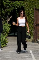 Camila Morrone Goes on a solo coffee run in West Hollywood