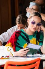 Candice Swanepoel Lunches at Bar Pitti in NYC