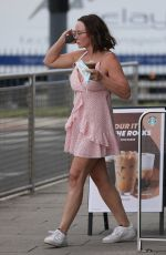 Chanelle Hayes Out and about in London