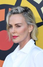 Charlize Theron Attending a CTAOP