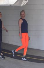 Charlize Theron Completes her daily workout session ahead of the weekend in Beverly Hills